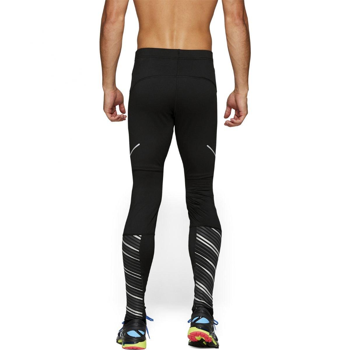 Asics Lite Show 2 Winter Tight męskie zimowe leginsy do biegania (czarne)