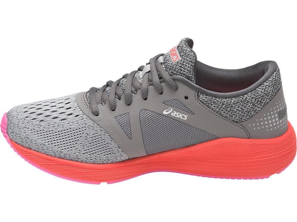 Asics Roadhawk FF damskie buty do biegania (szaro pomarańczowy)