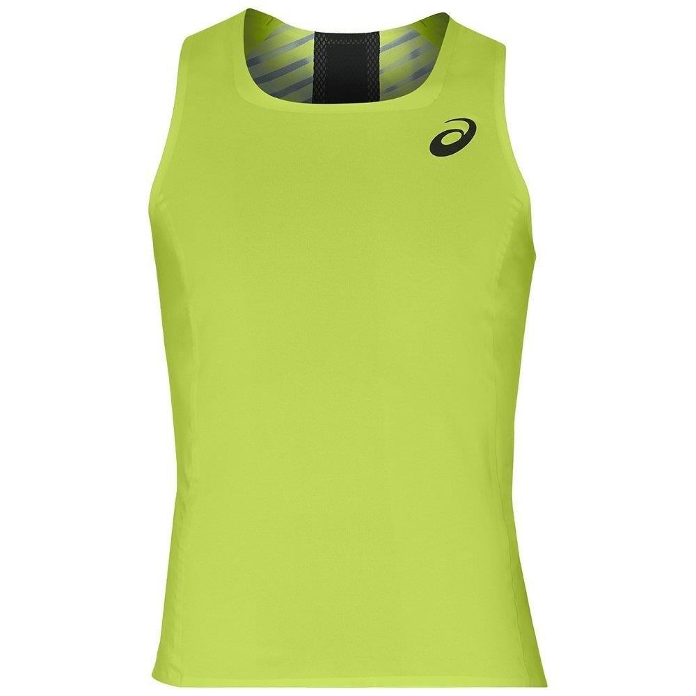Asics Singlet Hazard męska koszulka bez rękawów do biegania (żółty)