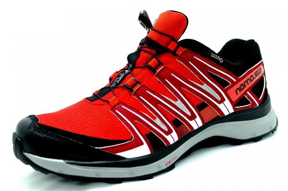 Salomon XA LITE GTX obuwie trekkingowe męskie (czerwono czarny)