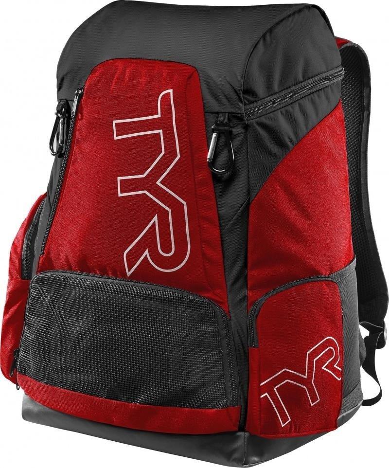 bca320fb56aff1 Tyr Alliance Team Backpack 45L - plecak treningowy (czarno-czerwony ...