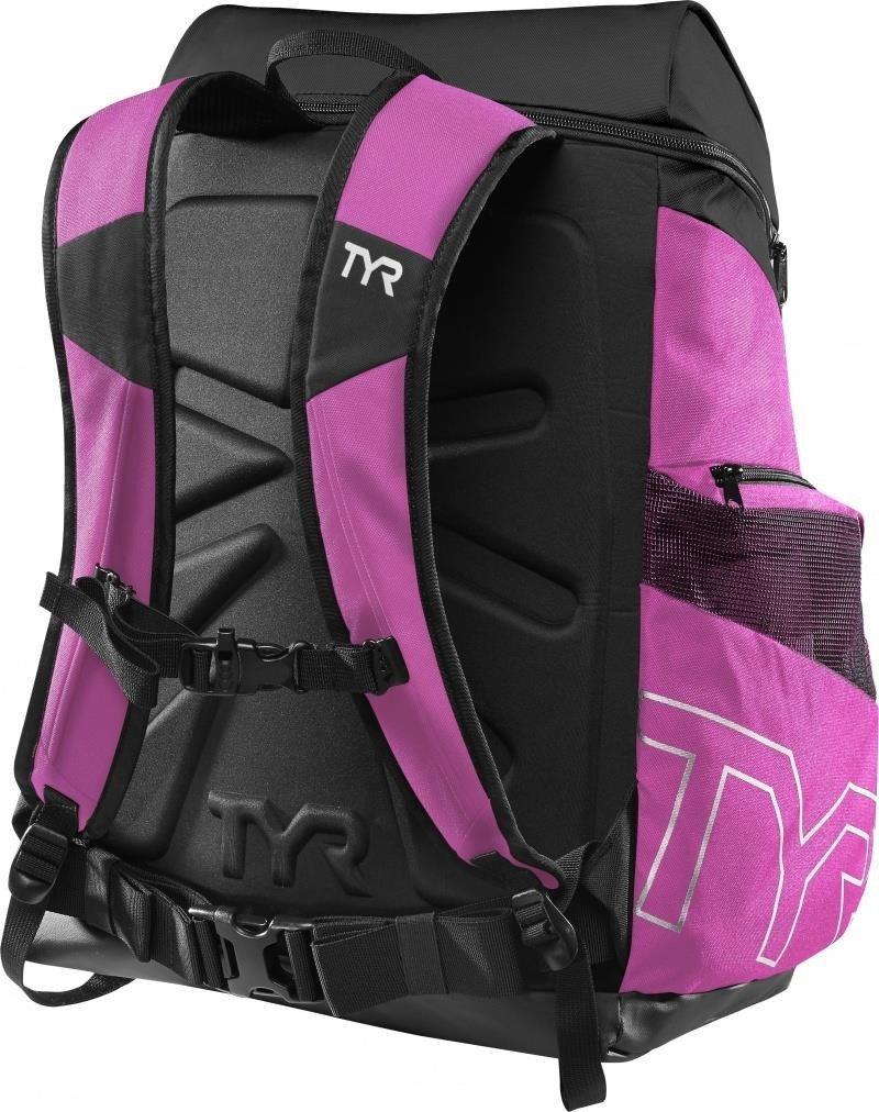 1e69a5fb8668eb Tyr Alliance Team Backpack 45L - plecak treningowy (czarno-różowy ...