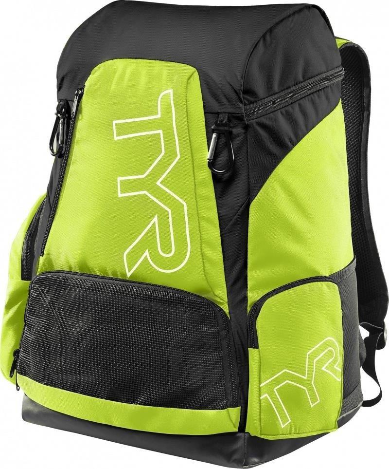 c74b06f49745f9 Tyr Alliance Team Backpack 45L - plecak treningowy (czarno-zielony ...