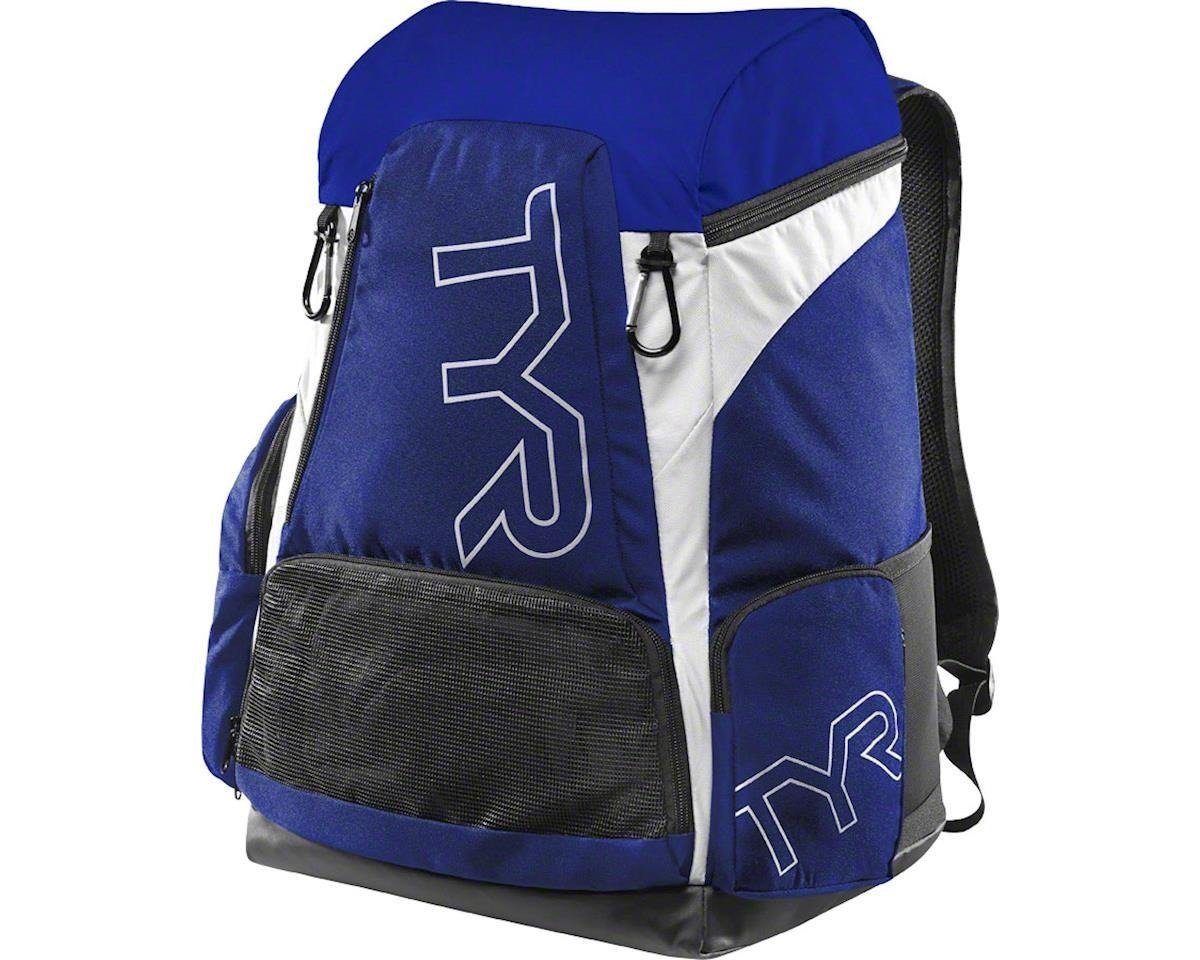 b03a96b13e048e Tyr Alliance Team Backpack 45L - plecak treningowy (niebiesko-biały)