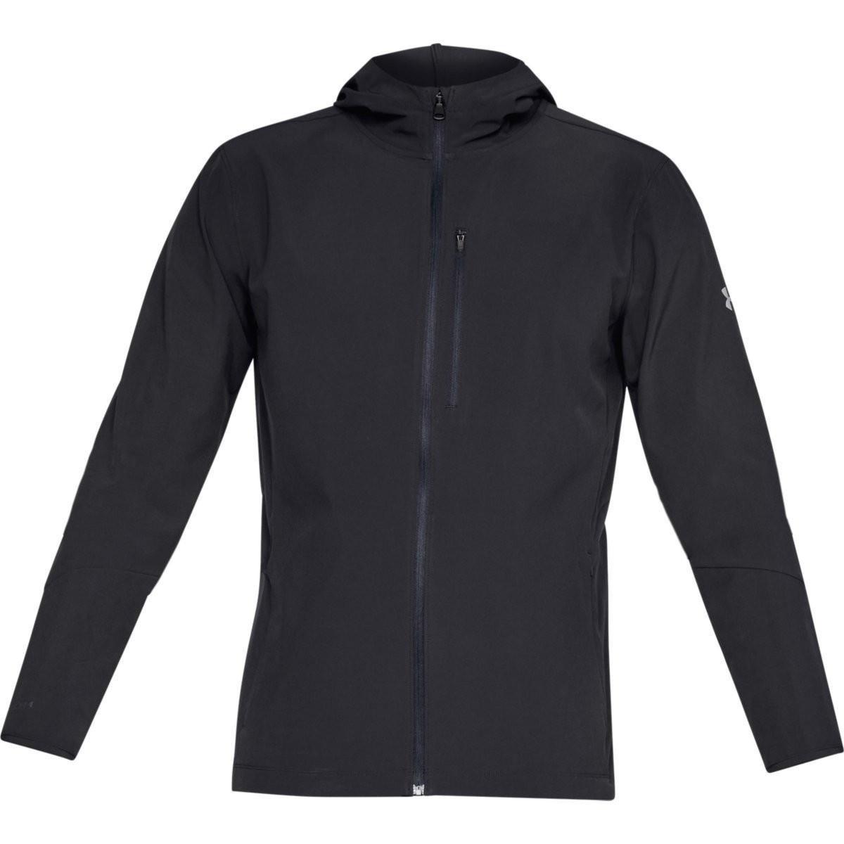 kup tanio tani wiele modnych Under Armour Outrun The Storm Jacket V2 - męska kurtka (czarny)