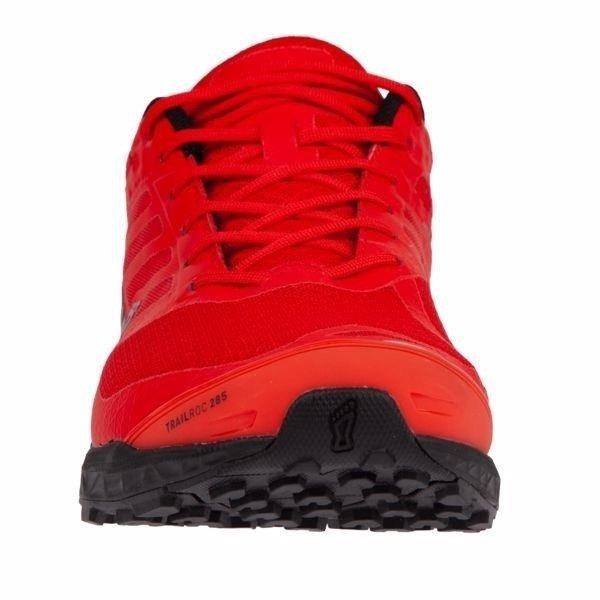 Inov 8 Trailroc 285 – męskie buty do biegania (czarno czerwony)