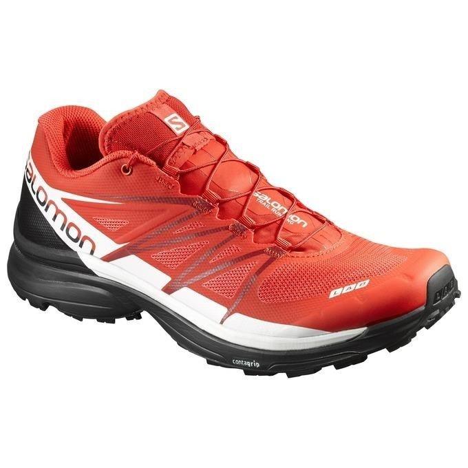 Salomon S Lab Wings 8 buty do biegania w terenie (czerwony)